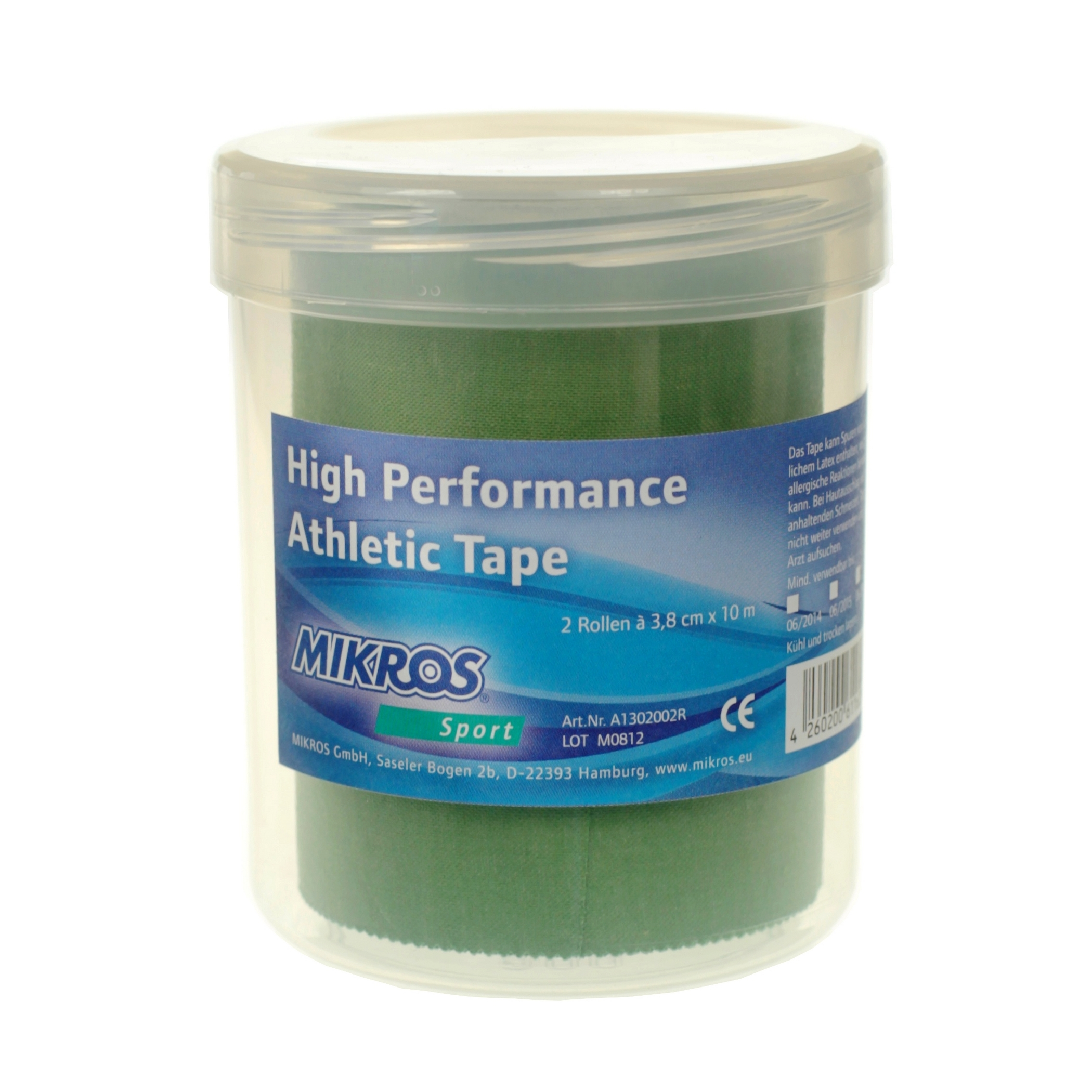 Image of   Mikros Classic Tape - Green - 2 Pieces