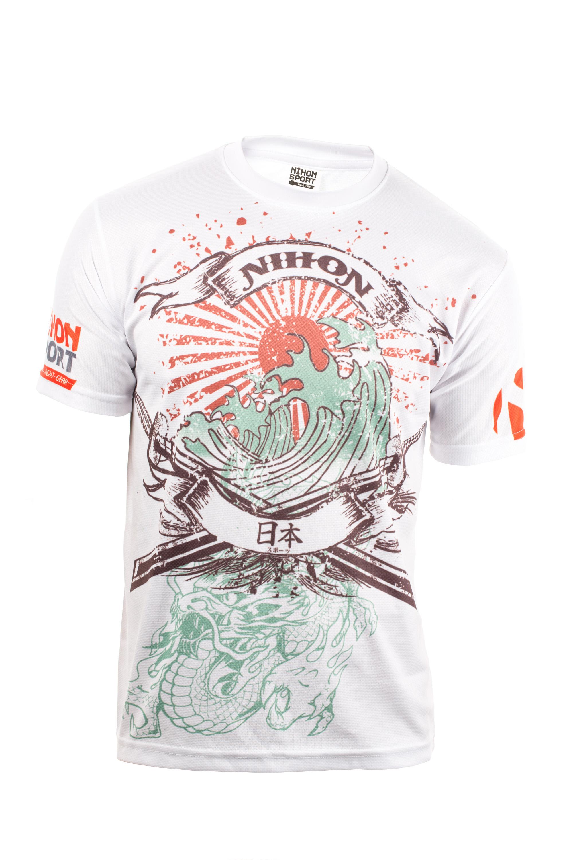 Nihon Sport Shirt Samurai - Men - White - XL