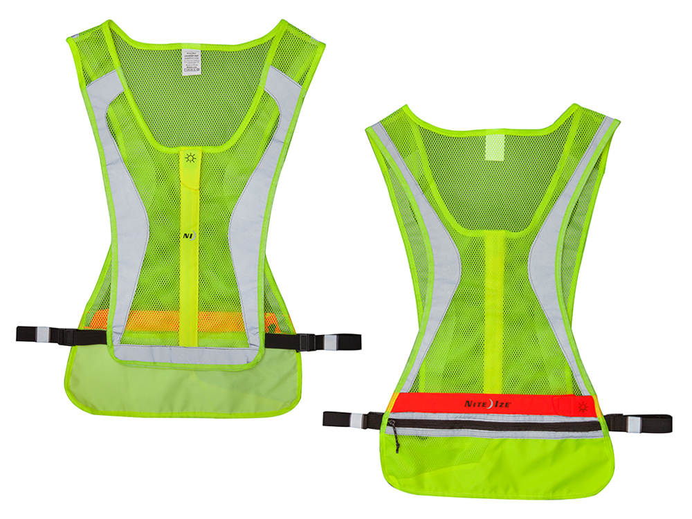 Image of   Nite Ize LED Running Vest - Neon Yellow - L / XL