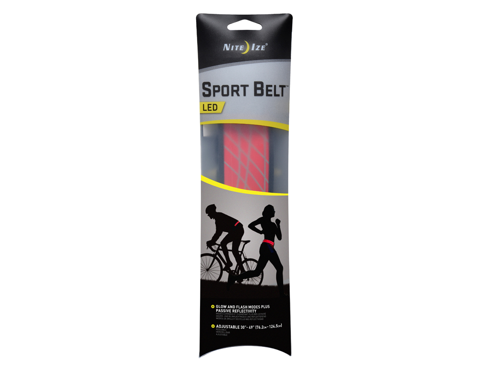 Image of   Nite Ize LED Sport Belt - Rød