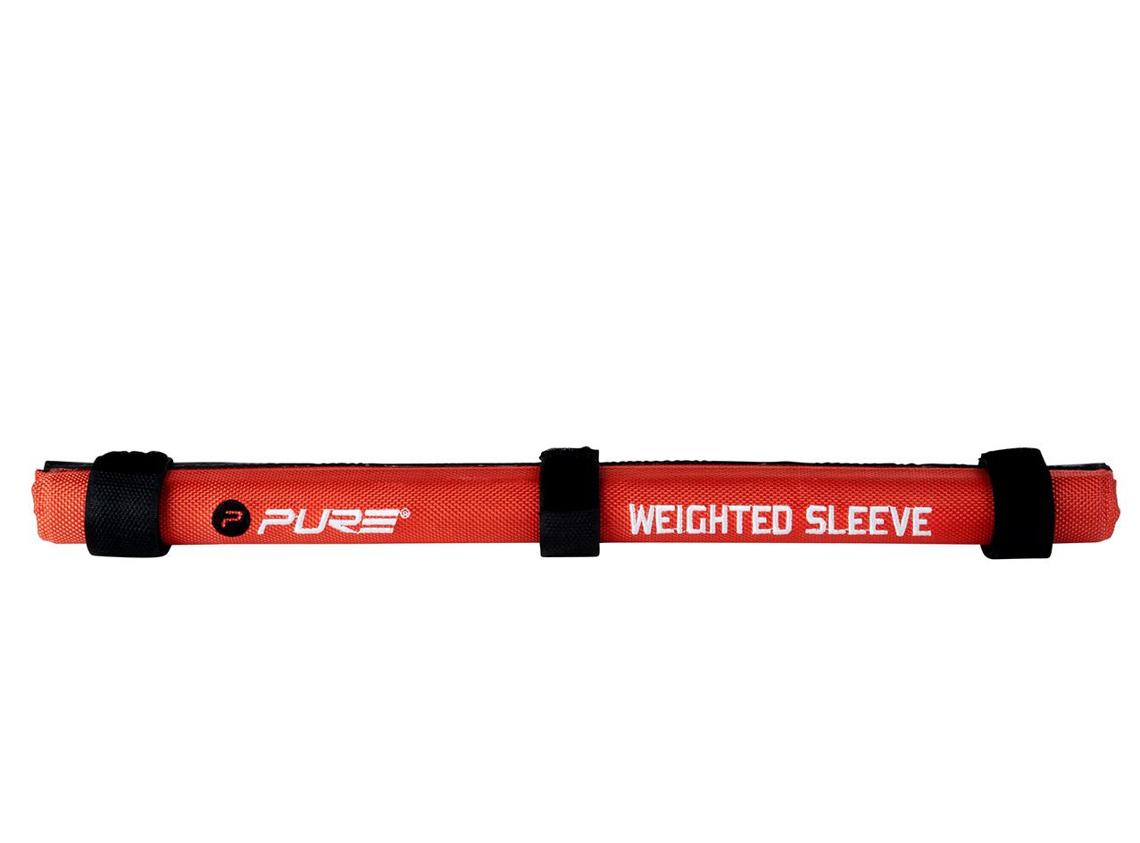 Image of   Pure2Improve Vægtet Sleeve - Rød / Sort