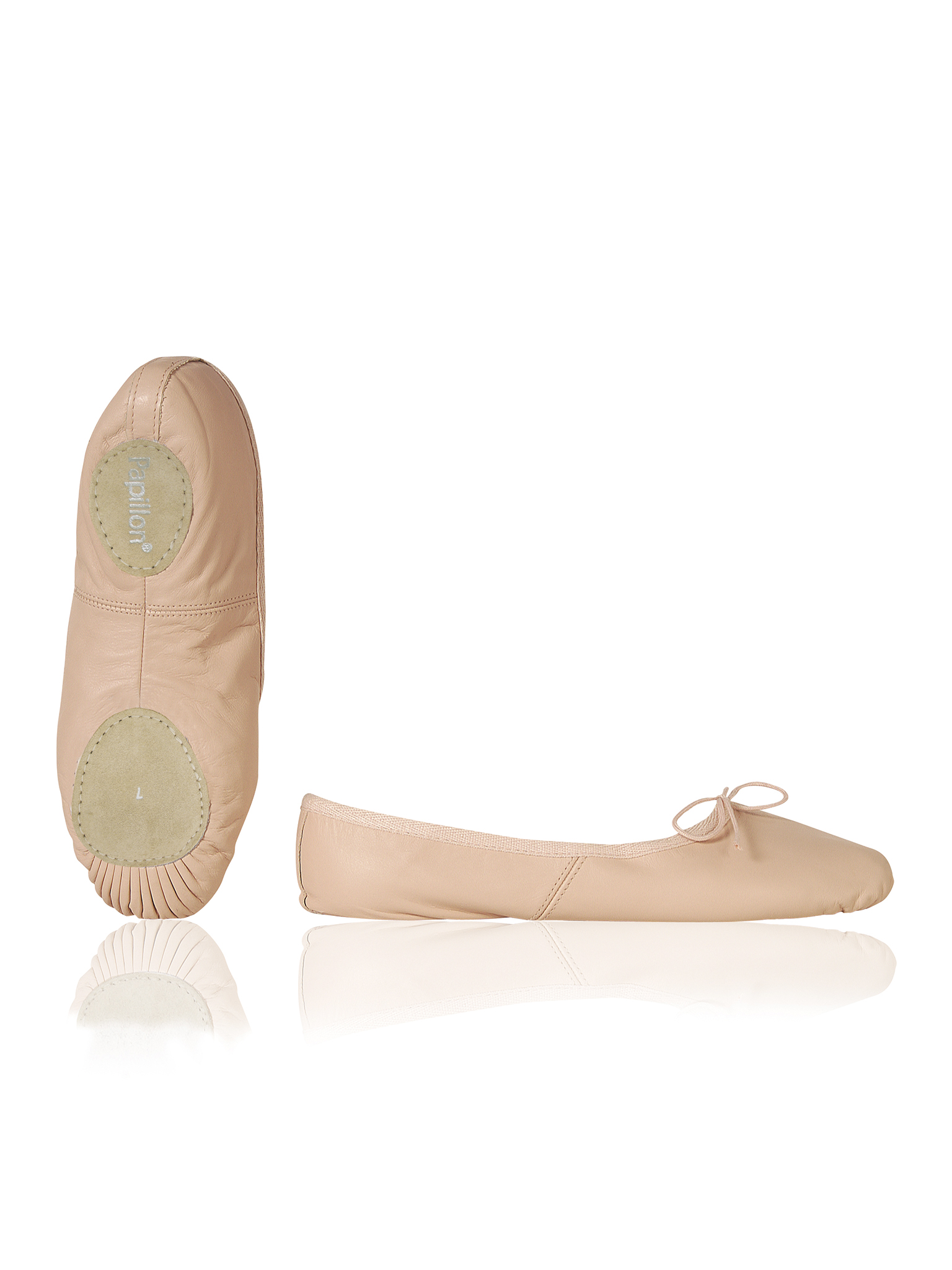 Image of   Papillon Ballet shoe Soft leather split sole Women - Pink - 75