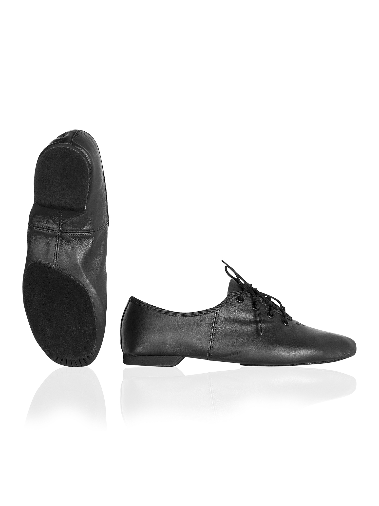 Image of   Papillon Jazz shoe chrome split sole Women - Black - 35