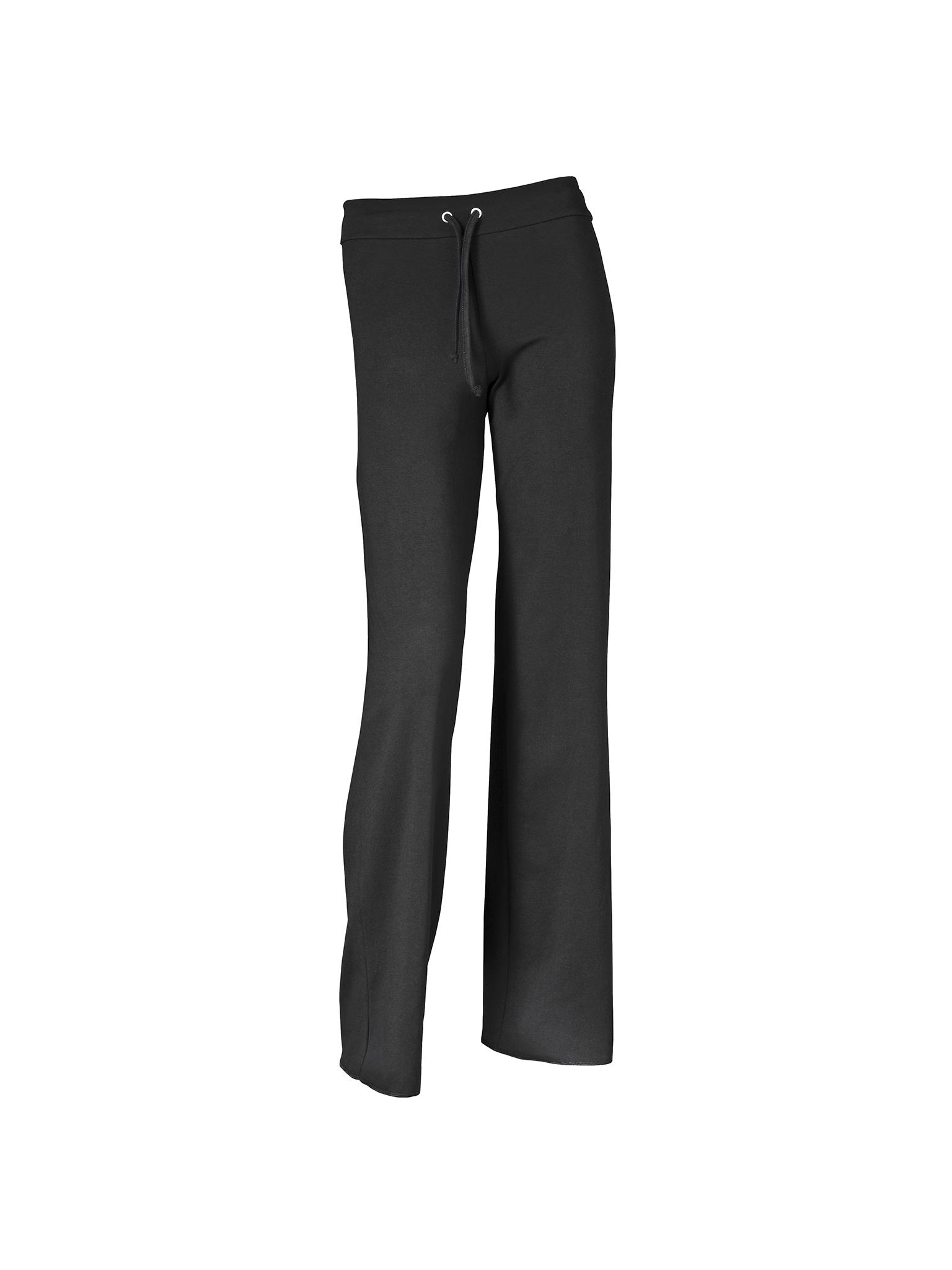 Image of   Papillon Pant waistband drawstring cotton Women - Black - L