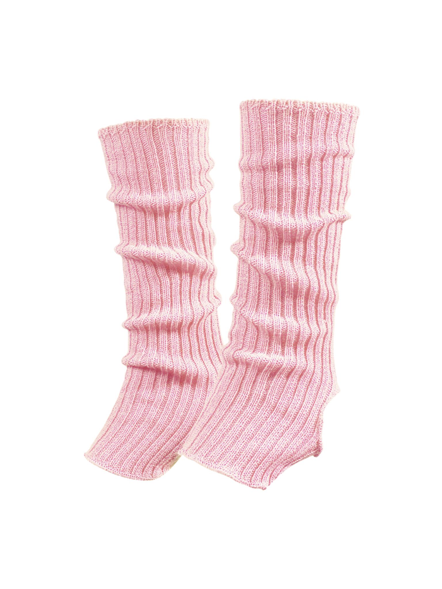 Image of   Papillon Ankle warmers længde 40 cm akryl Kvinder - Pink - One størrelse