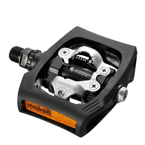 Details:    shimano modelcode: pdt400  modeljaar: 2012  spd/spd sl: click'r  kleur: zwart  met plaatjes sm ...