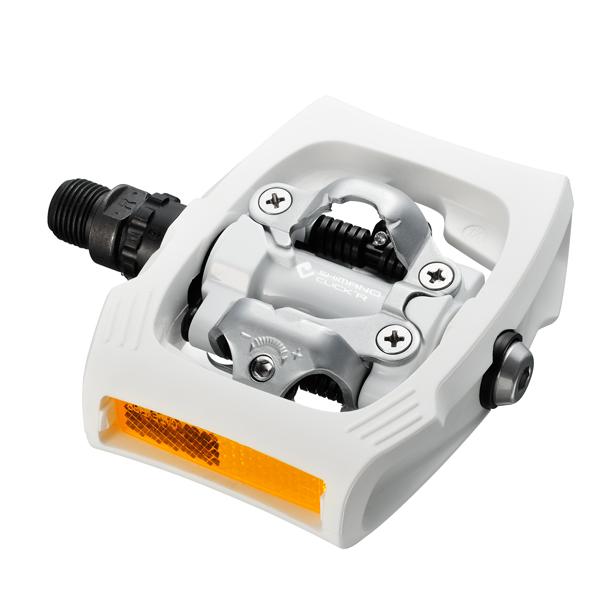 Details:    shimano modelcode: pdt400  modeljaar: 2012  spd/spd sl: click'r  kleur: wit  met plaatjes sm ...