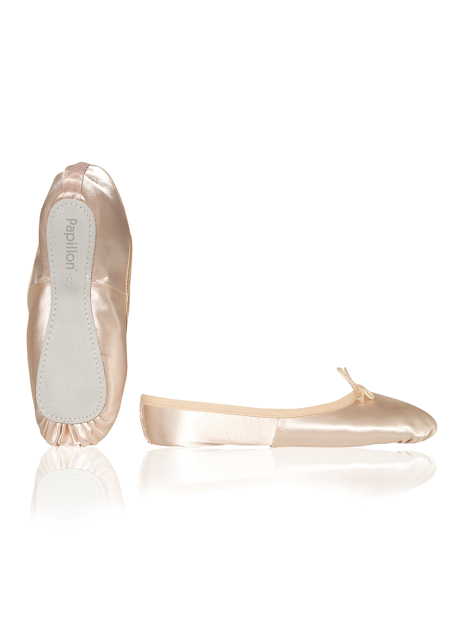 Image of   Papillon Ballet shoe Soft satin full sole Girls - Pink - 105K
