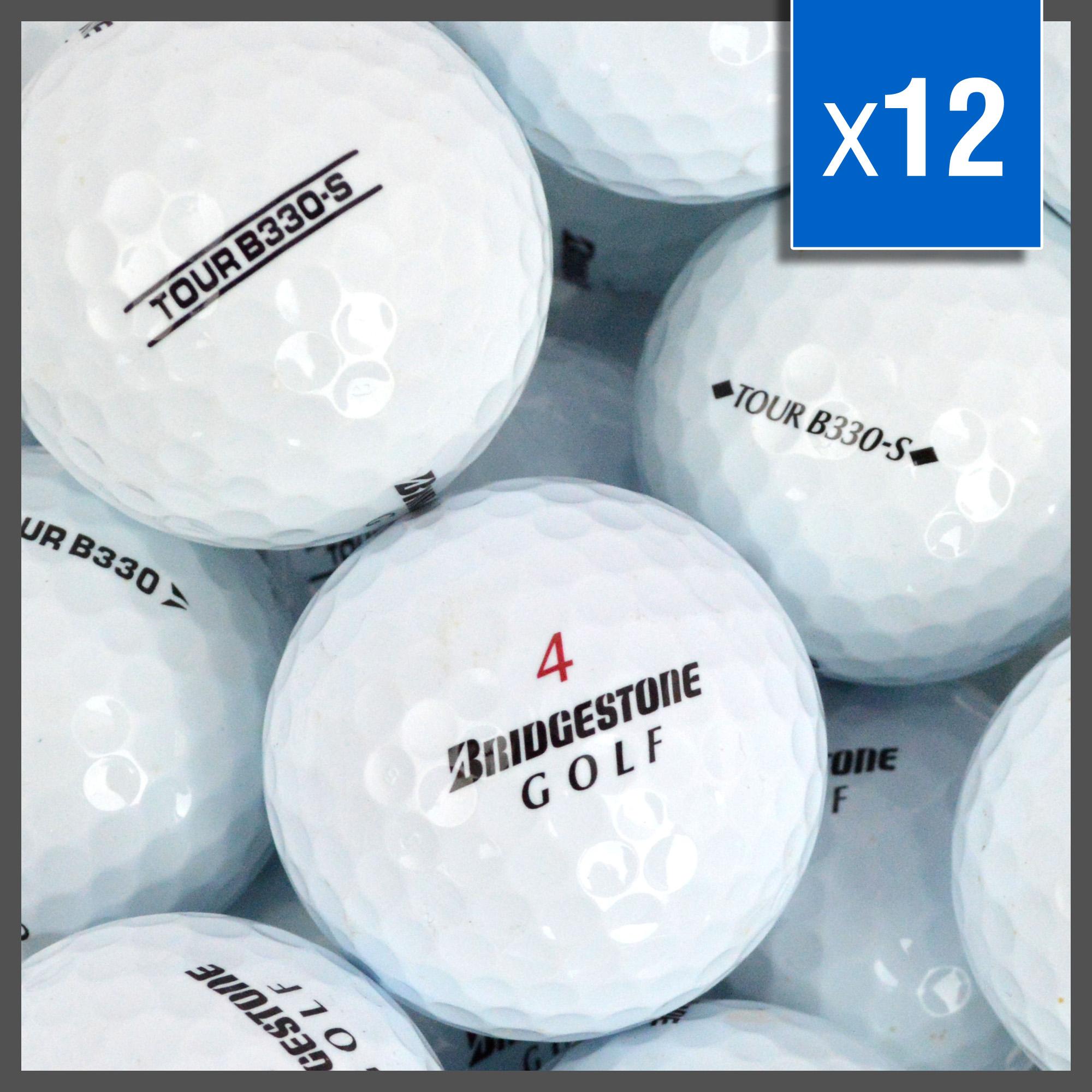 Image of   Bridgestone B330 Golf Balls Mix - Grade A - 12 stk