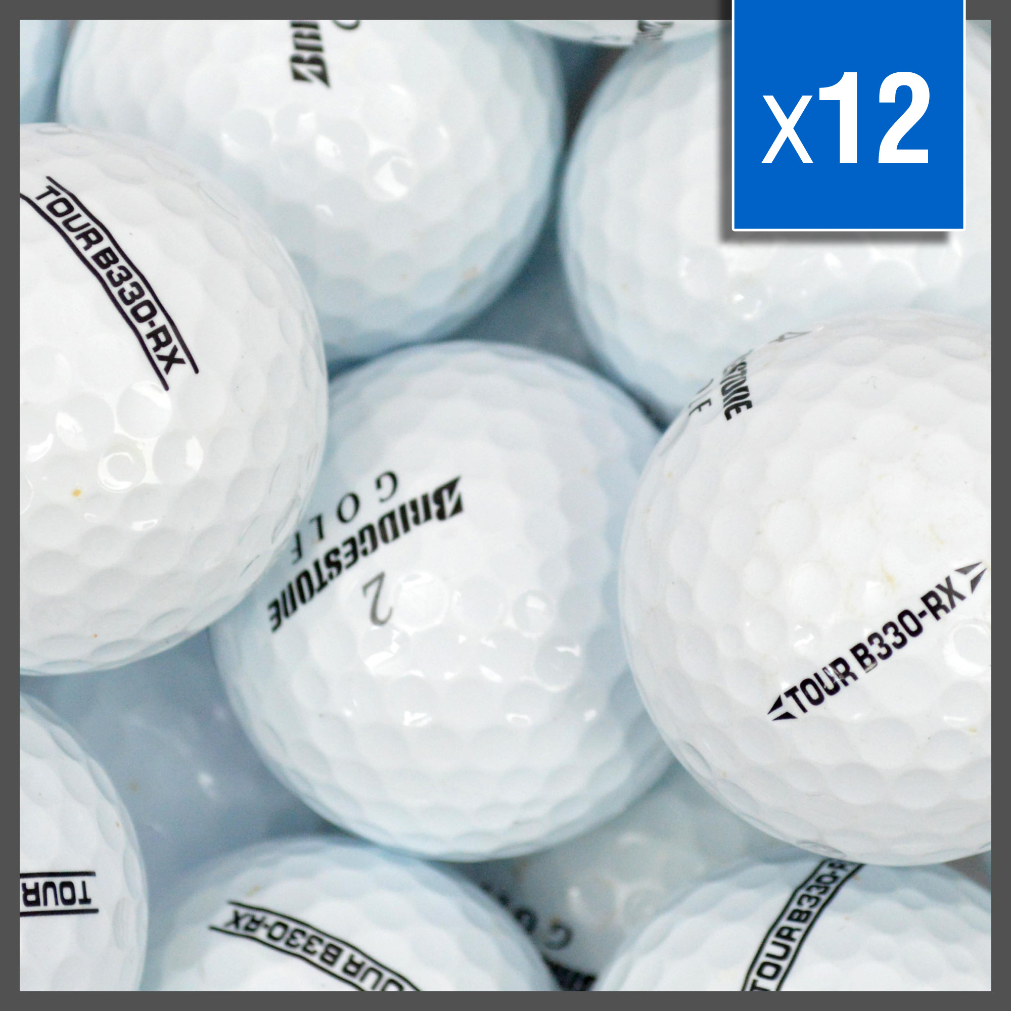Image of   Bridgestone RX Golf Balls Mix - Grade A - 12 stk