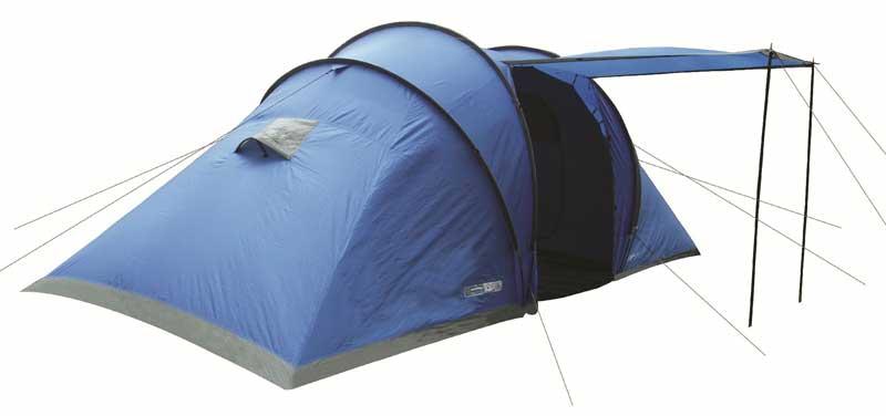 Highlander Cypress 4 Tent - Blauw