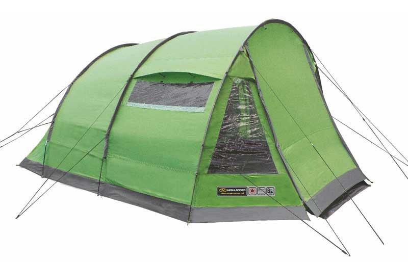 Highlander Sycamore 4 Tent - Groen