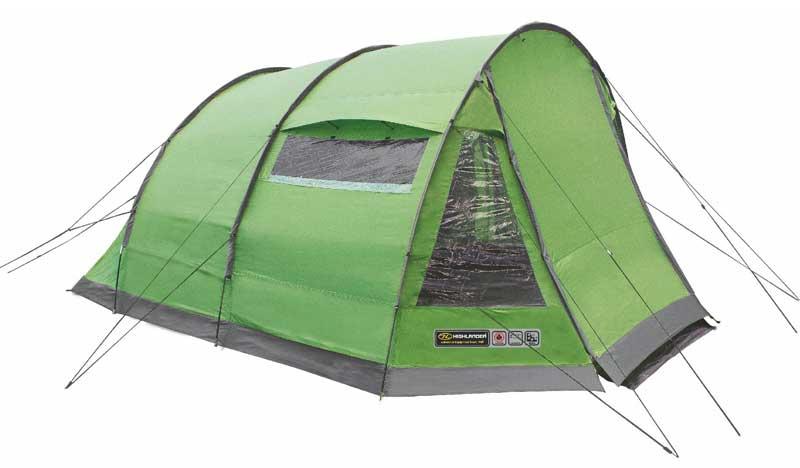 Highlander Sycamore 5 Tent - Groen