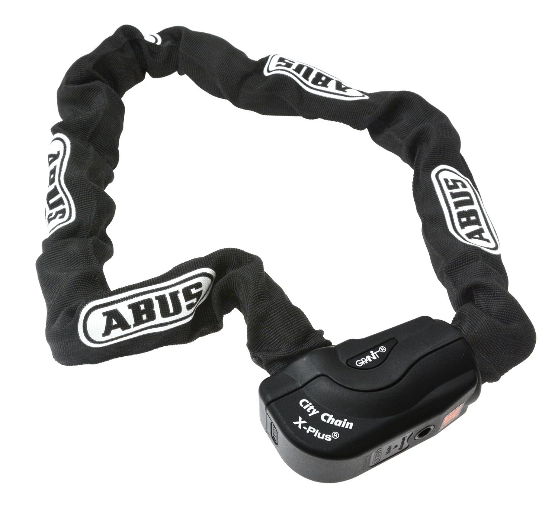 Abus Granit Citychain X-Plus 1060 Chain Lock - 10 mm / 110 cm - Black