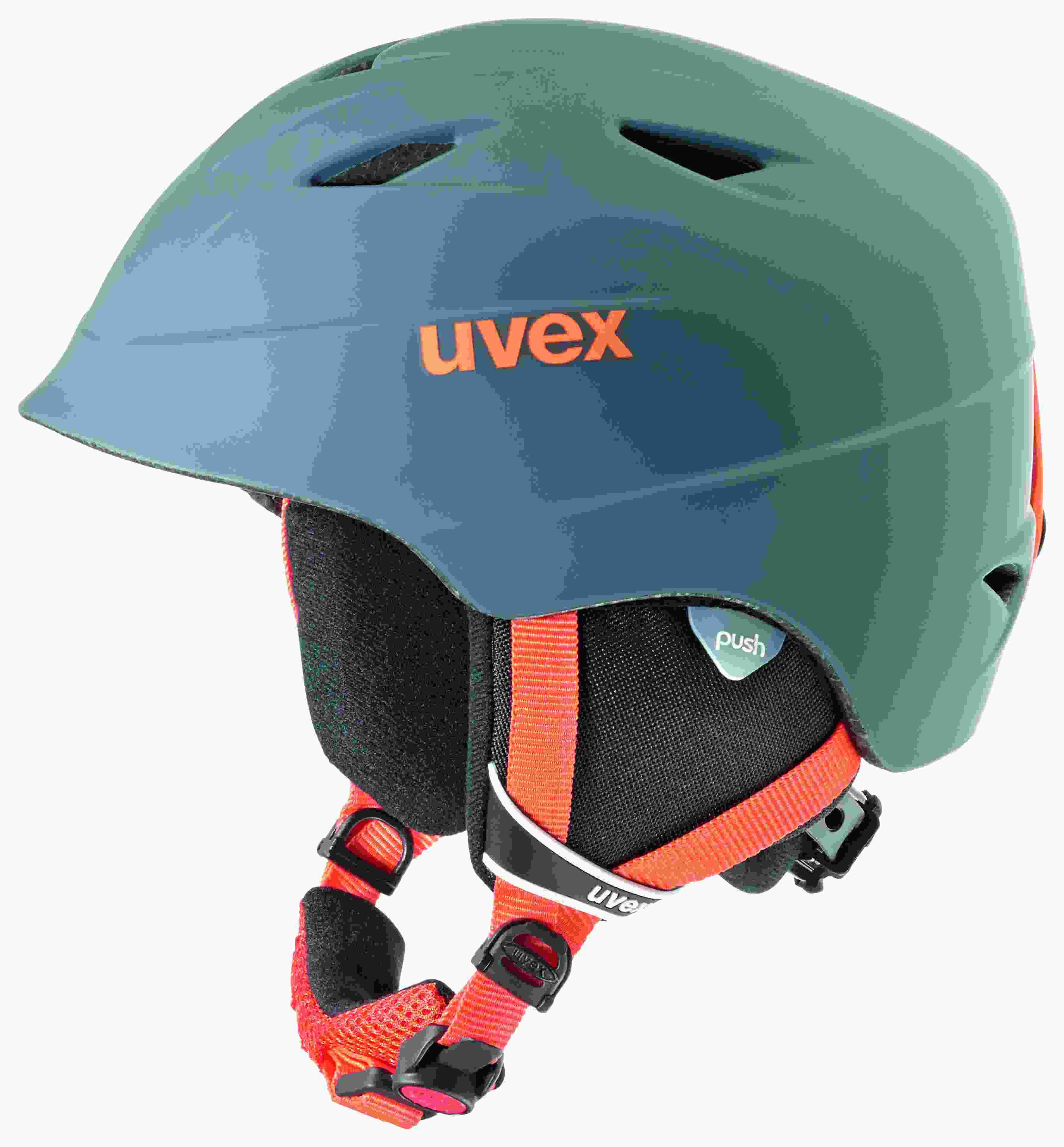 Image of   Uvex Airwing 2 Pro Ski Helmet - Titan / Orange Mat