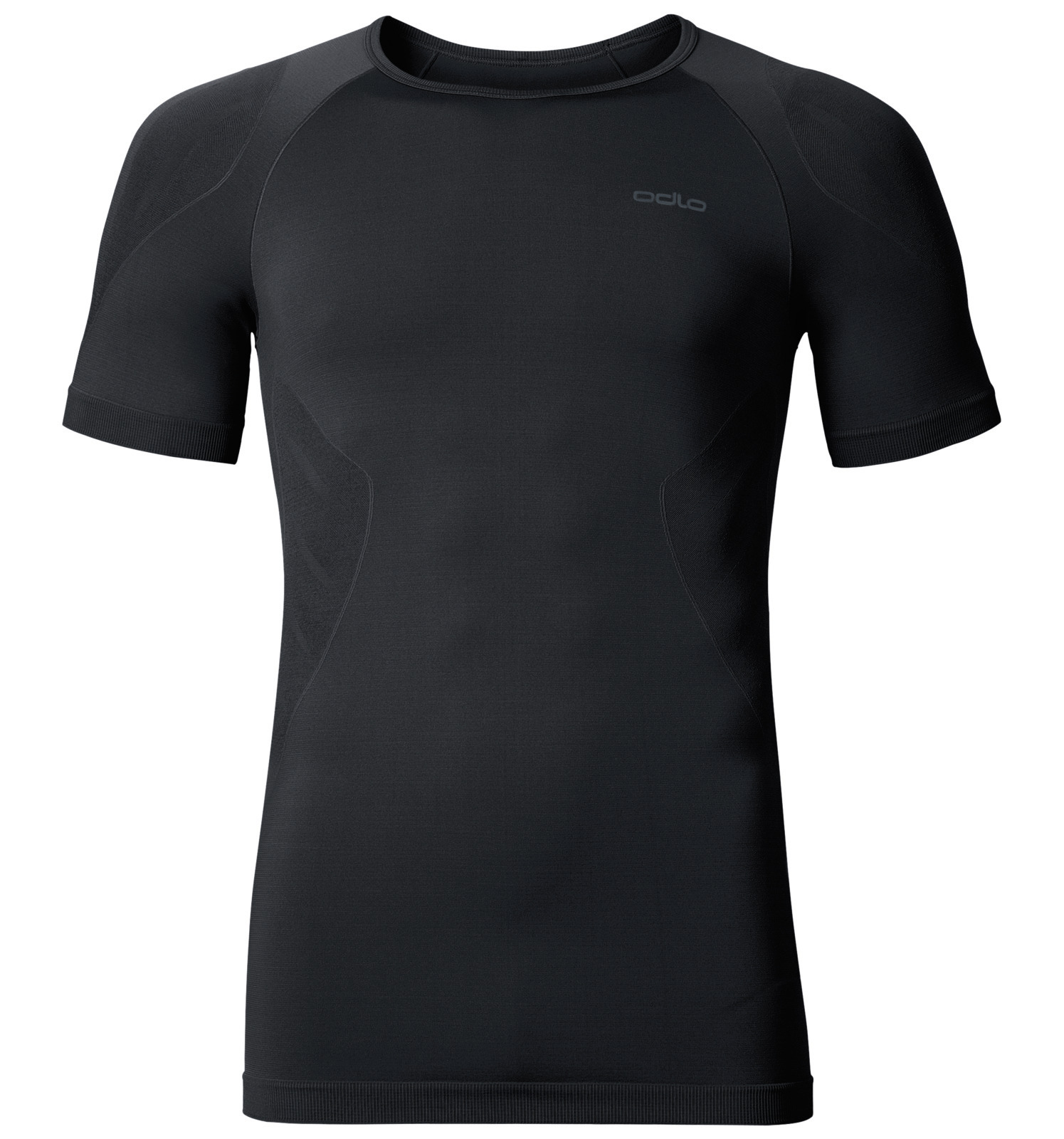 Odlo Men Shirt SS Crew Neck Evolution Light Black (S)