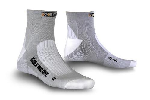 Image of   X -Socks Golf Mænd - Grå / Melange