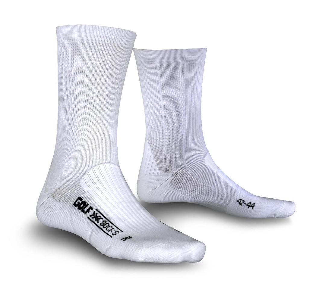 Image of   X-Socks Golf Mid Calf mænd - Hvid