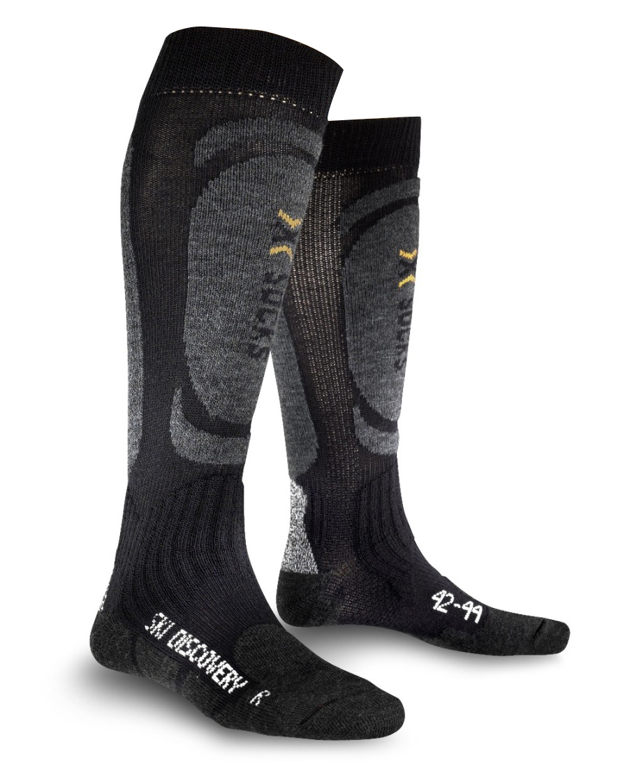 X-Socks Discovery Ski mænd - Sort / Antracit
