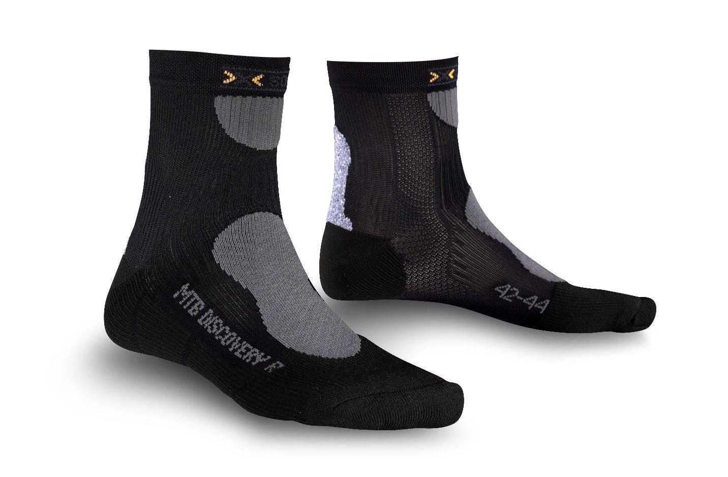 X-Socks Discovery Mountainbike Mænd - Sort