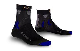 X-Socks Mountainbike Kvinder - Sort / Sky Blå