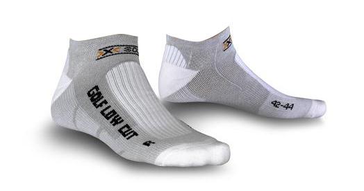 Image of   X-Socks Golf Low Cut Mænd - Grå / Melange - 45-47