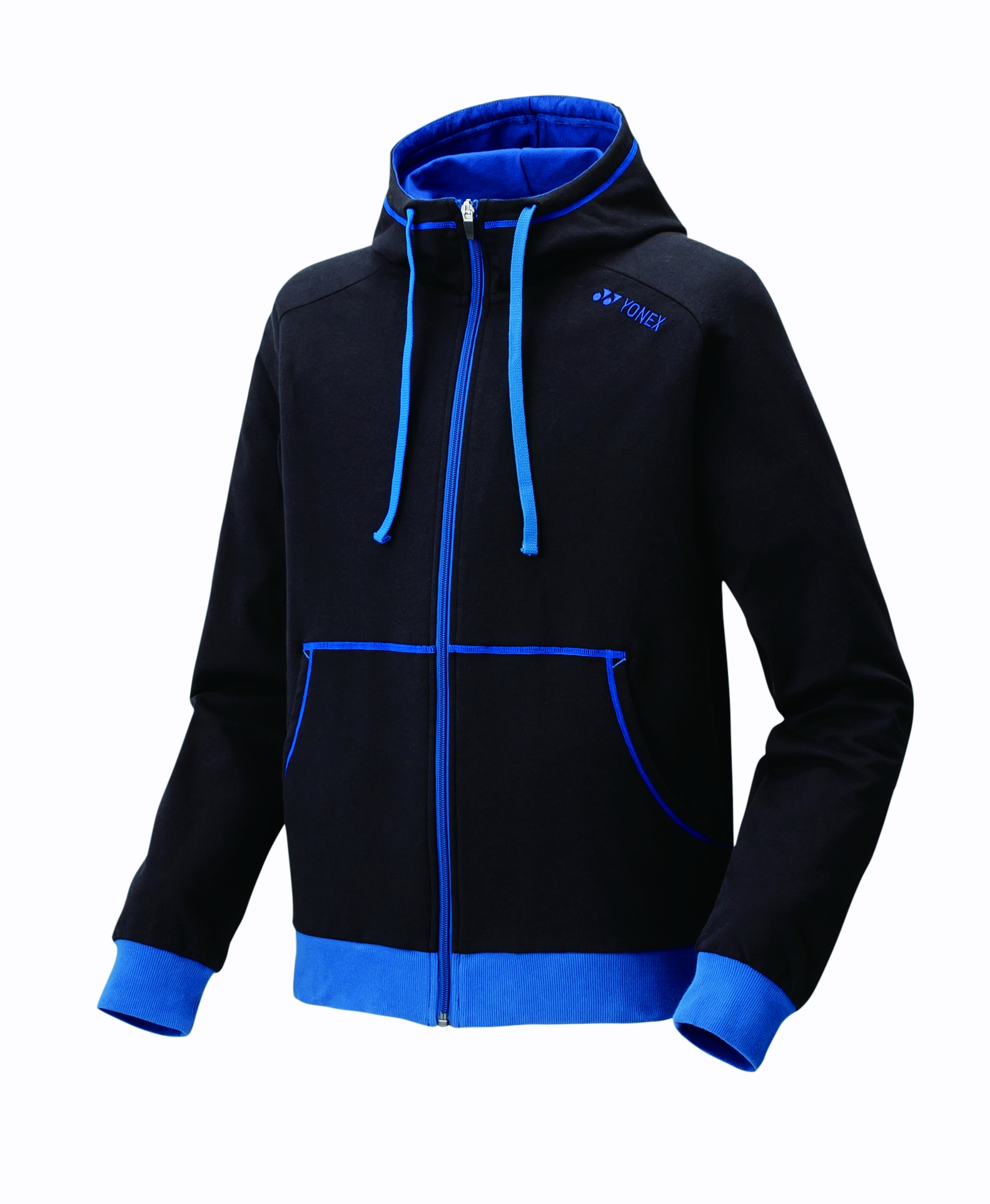 Image of   Yonex 32010EX / 32011EX Trainingsuit - Black / Blue