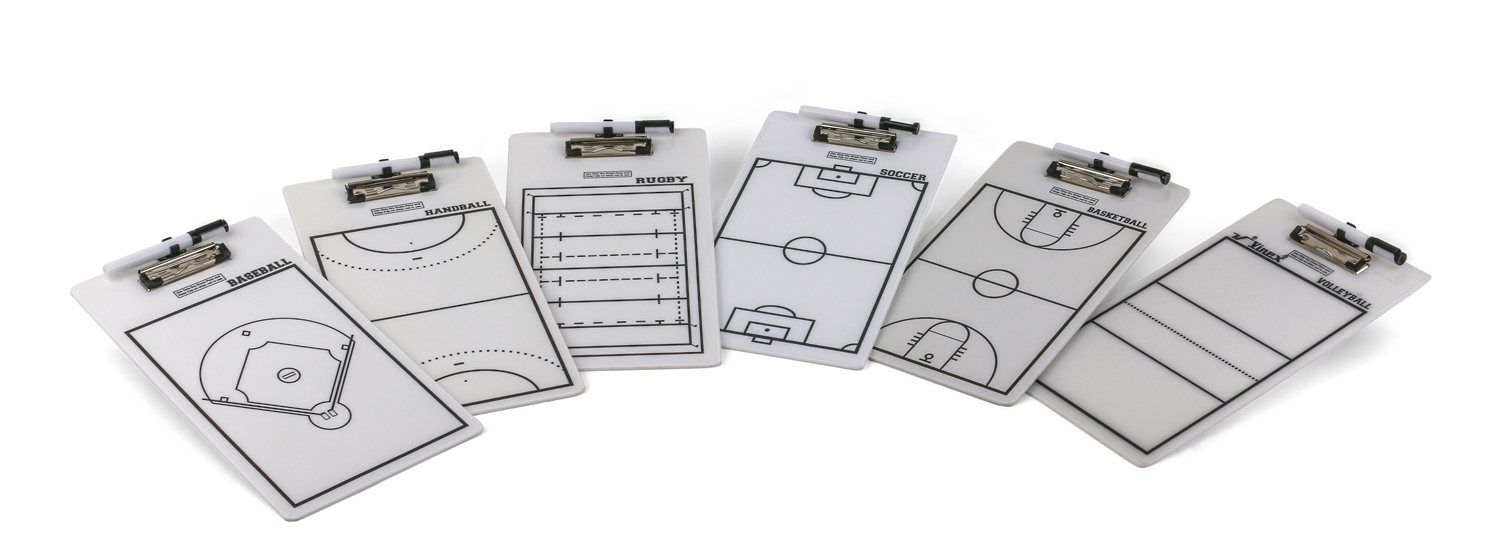 Image of   Vinex Tactic Clipboard Rugby - 22 x 40 cm