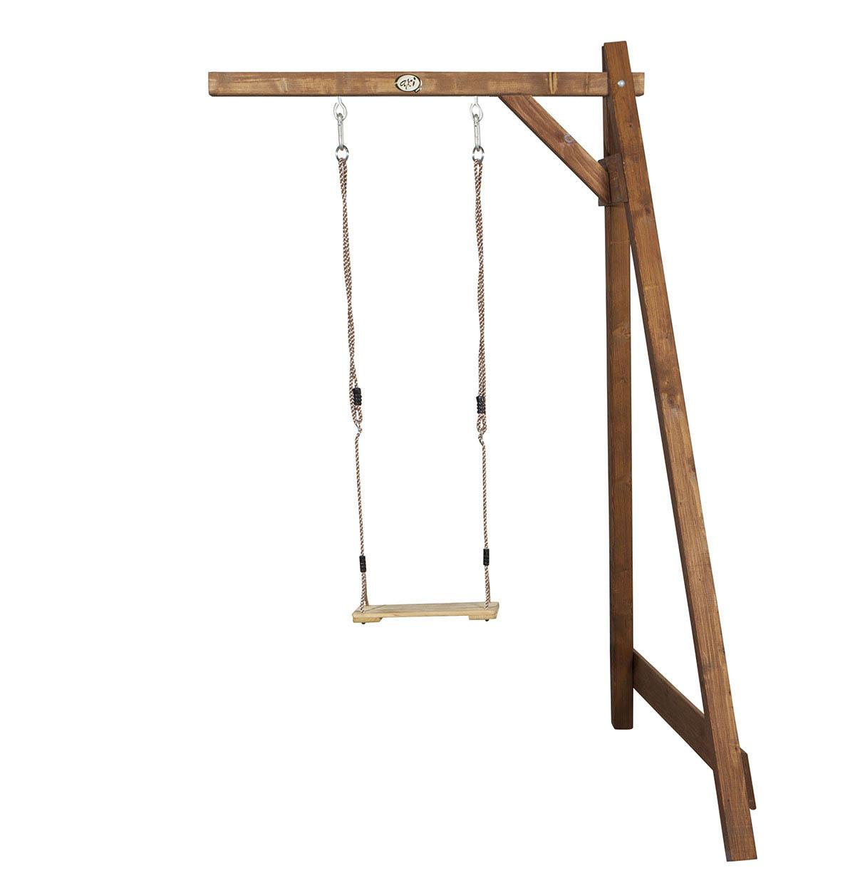 Image of   AXI Single Swing Brown Vægbeslag