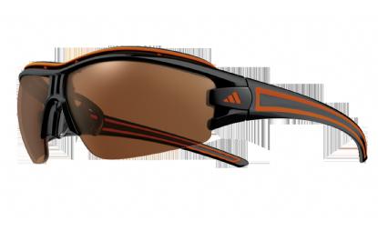 Image of   Adidas Eyewear Evil Eye Halfrim Pro Solbriller - Shiny Black-Orange / LST aktiv + LST lyse