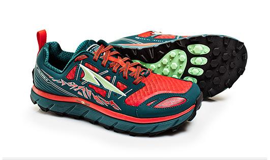 Image of   Altra ® Lone Peak 3 0,0 Kvinder Trail Running sko - Rød / Deep Sea