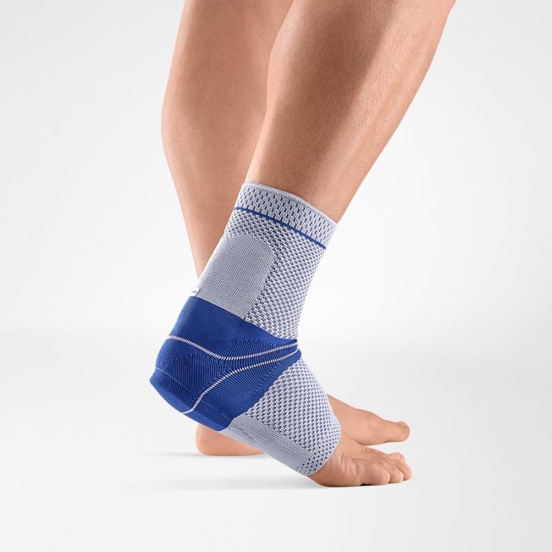 Image of   Bauerfeind AchilloTrain Bandage - Titanium - Right