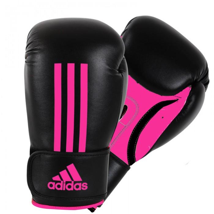 Adidas Energy 100 (Kick)Bokshandschoenen Zwart-Roze_12 oz