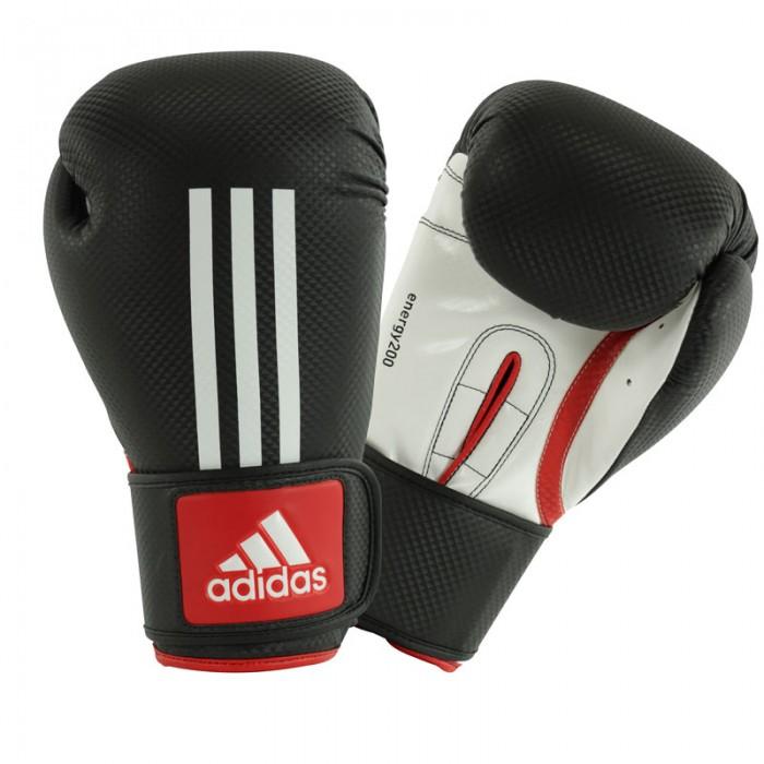 Image of   Adidas Energy 200 (Kick) Boxing Handsker - Rød / Hvid