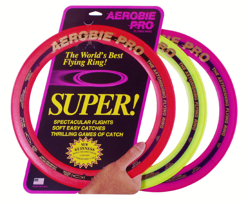 Image of   Aerobie Pro Flying Ring 33 cm / 13 tommer