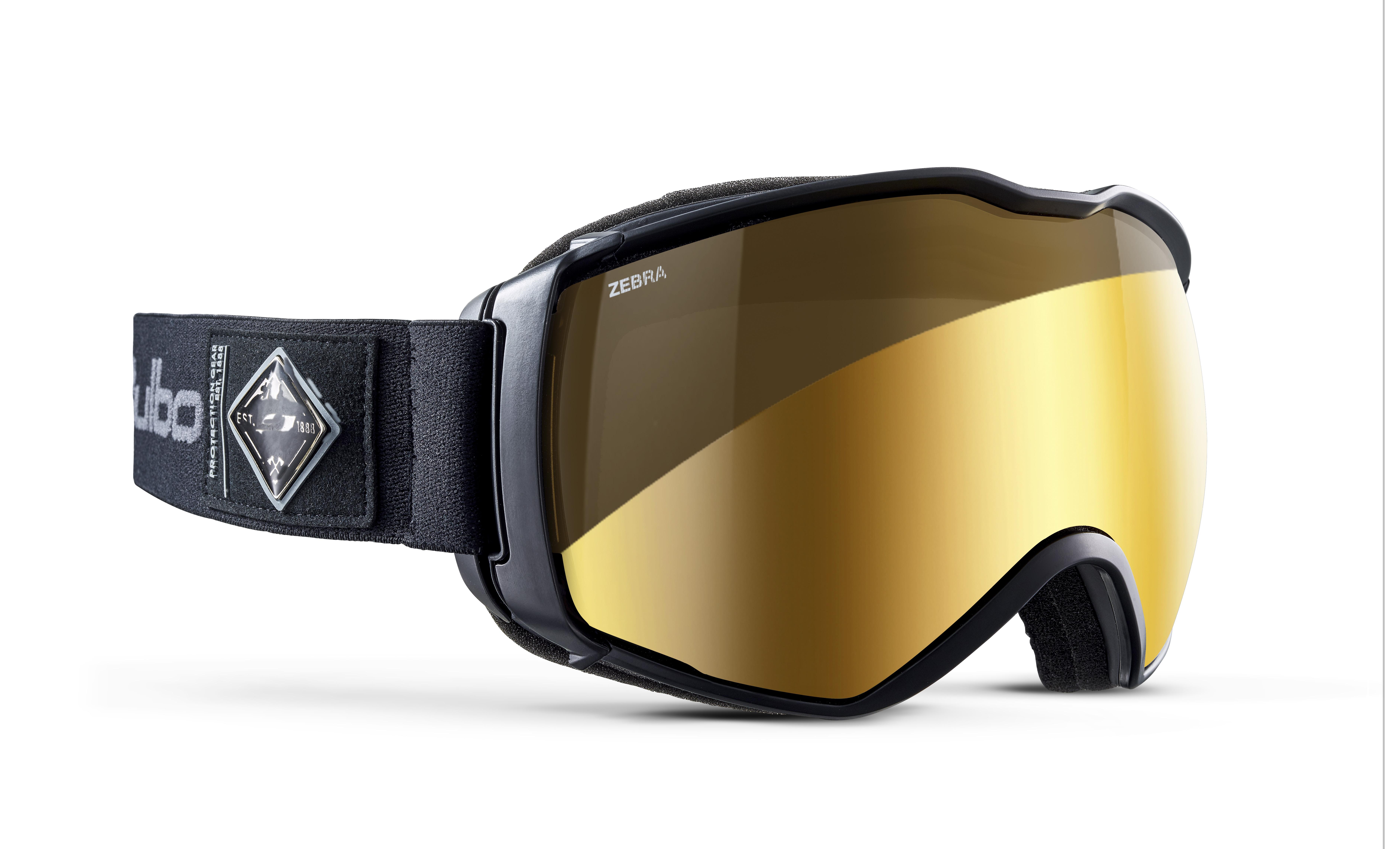 Image of   Julbo Aerospace Ski Goggles - Black - Zebra