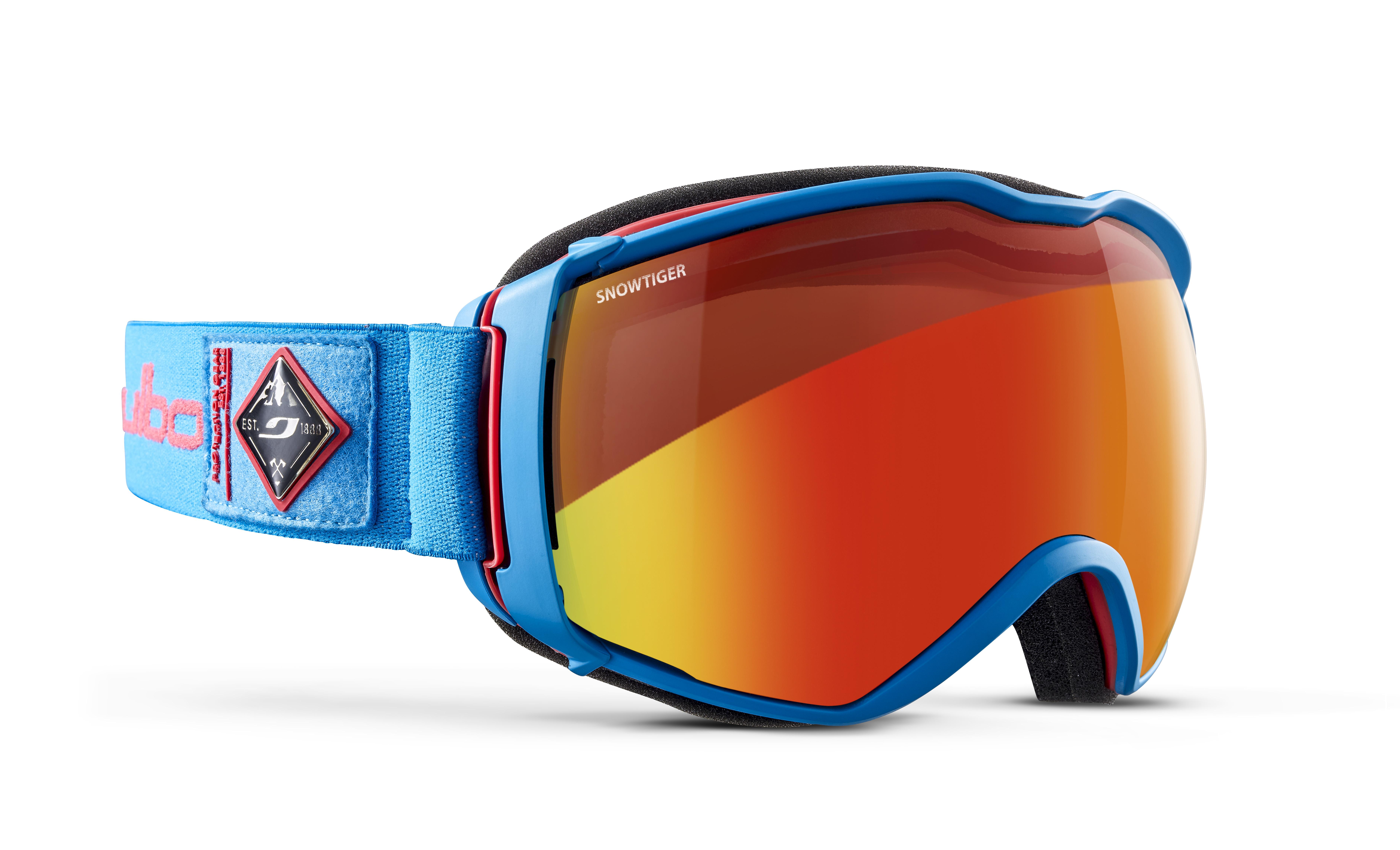 Image of   Julbo Aerospace Ski Goggles - Blue / Red - Snow Tiger