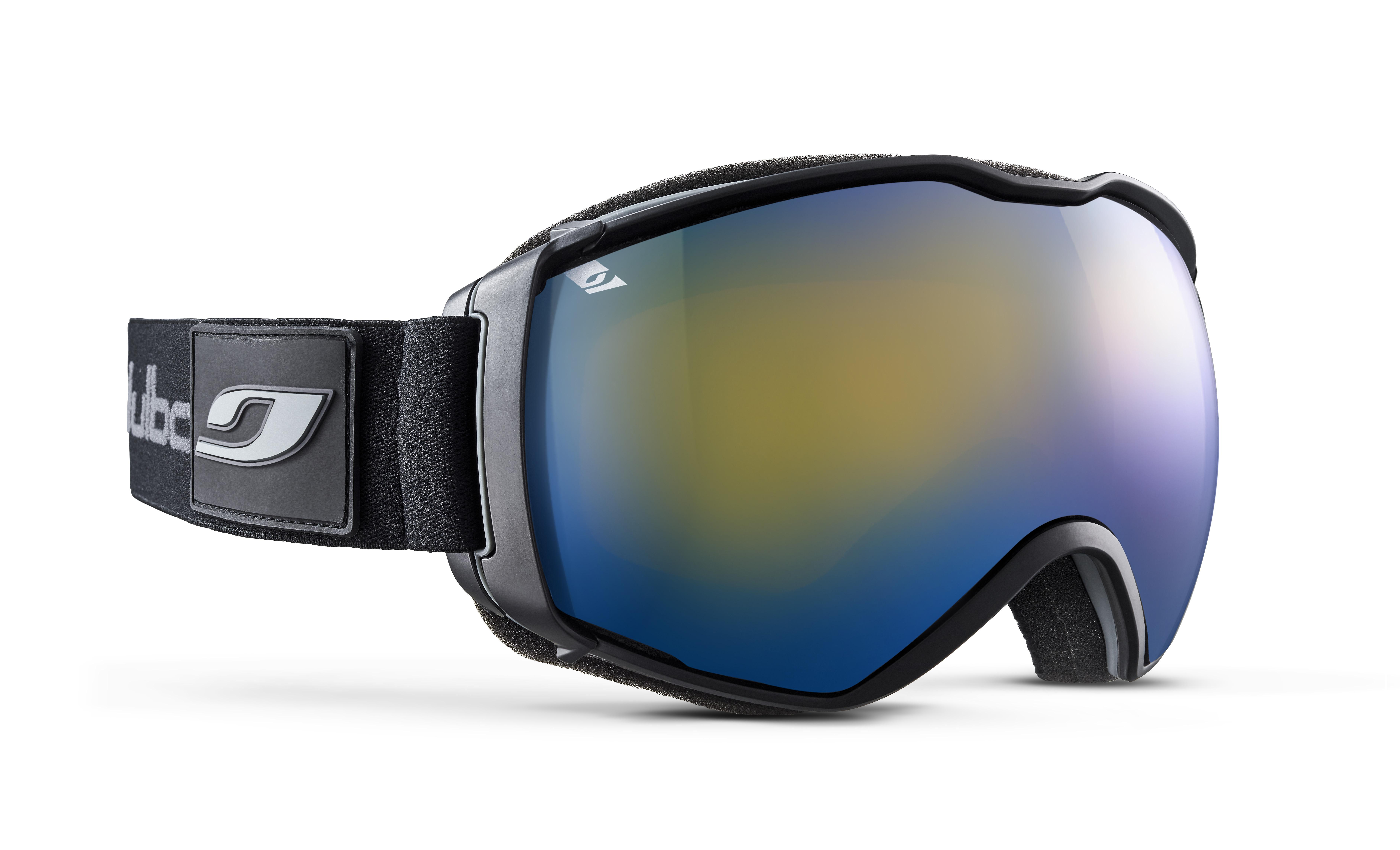 Image of   Julbo Airflux Ski Goggles - black / black - Yellow 1