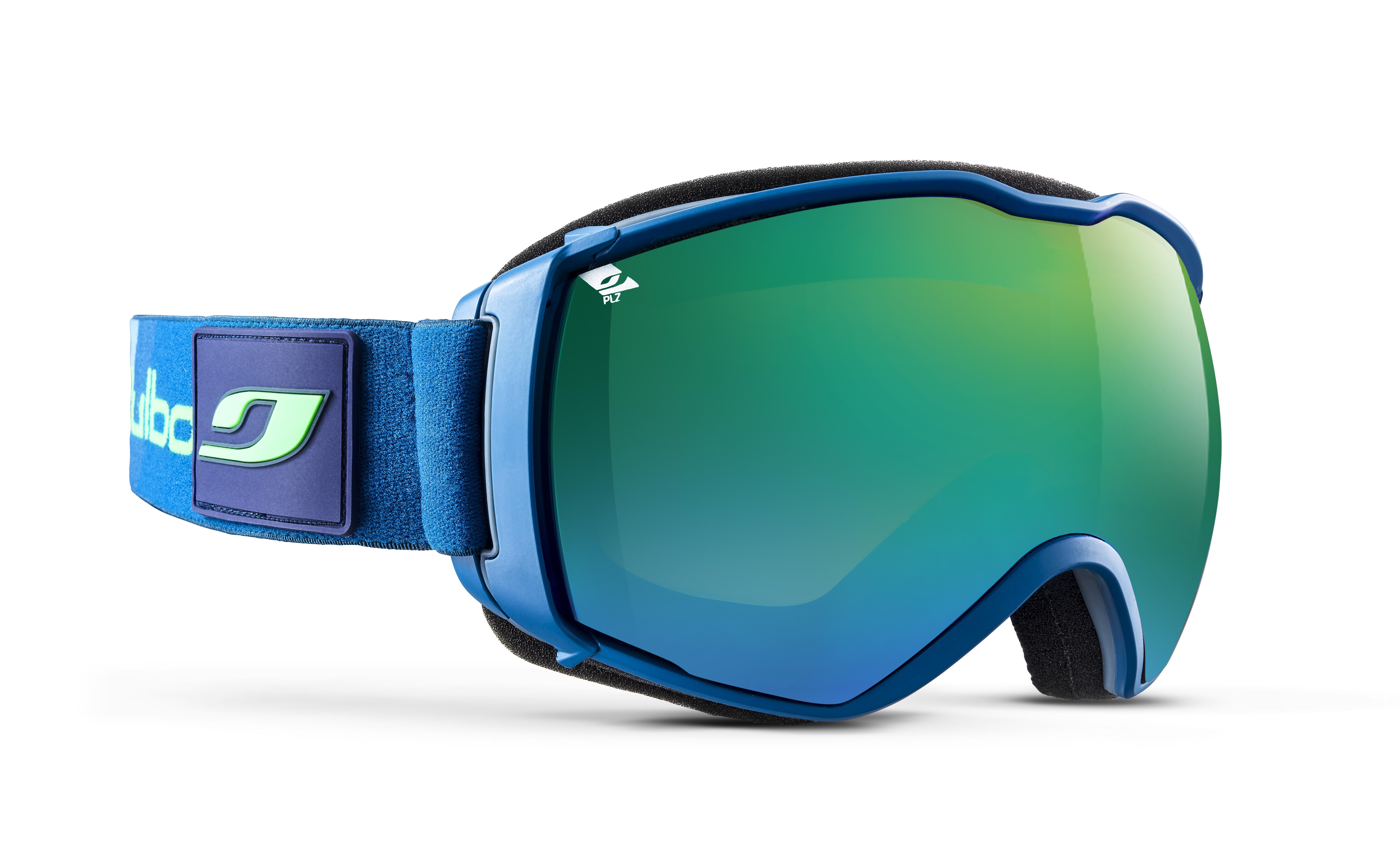 Image of   Julbo Airflux Ski Goggles - Dark blue / green - Orange Polarized 3