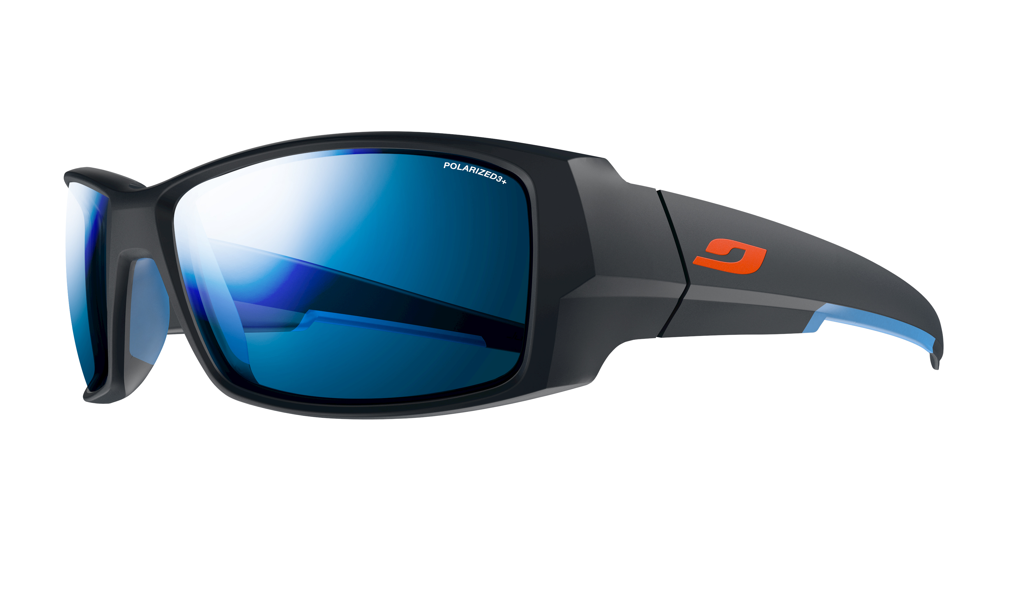 Image of   Julbo Armor polariseret 3+ Sportsbriller Large - Matt Blå / Blå
