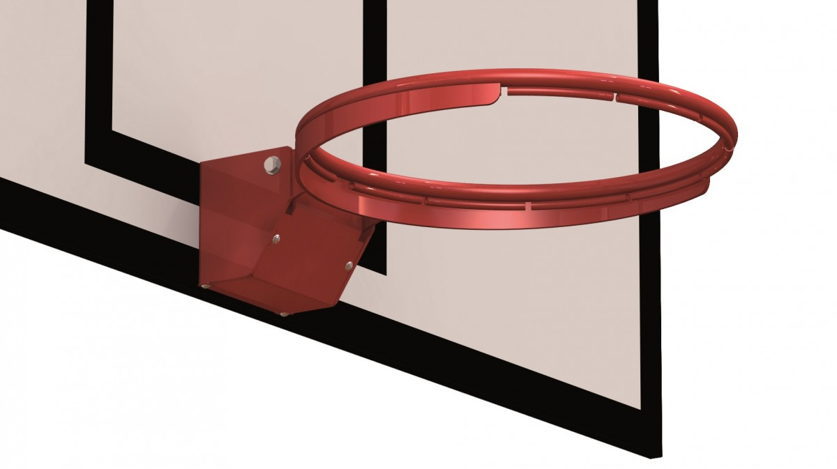 Image of   Basketball Competition Hoop - Hook netto vedhæftet fil