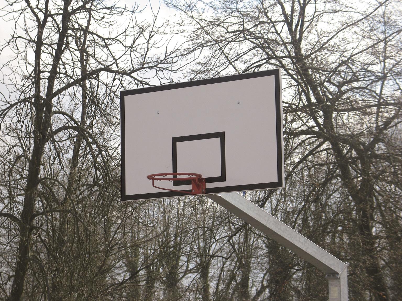 Image of   Basketball Konkurrence Bagplade - Polyester - Rektangulær - 1800 x 1050 x 20 mm