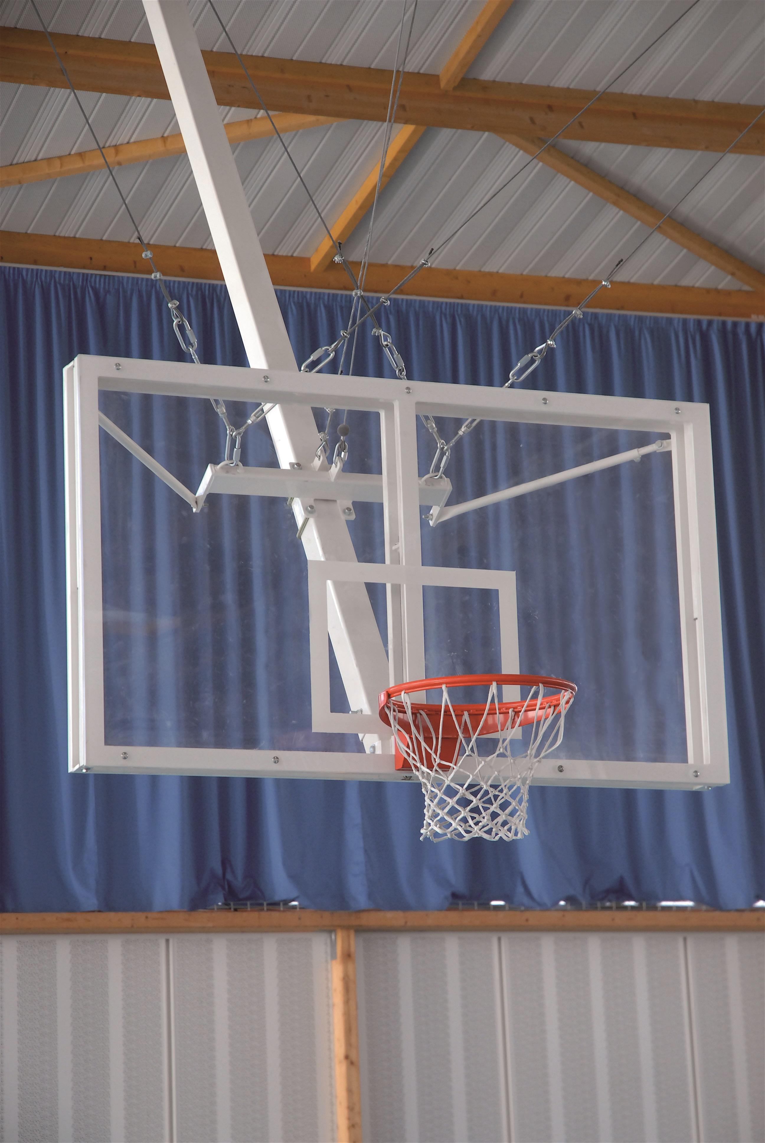 Image of   Basketball Goal tagmonteret - Fast højde - Overhæng 1,0 m