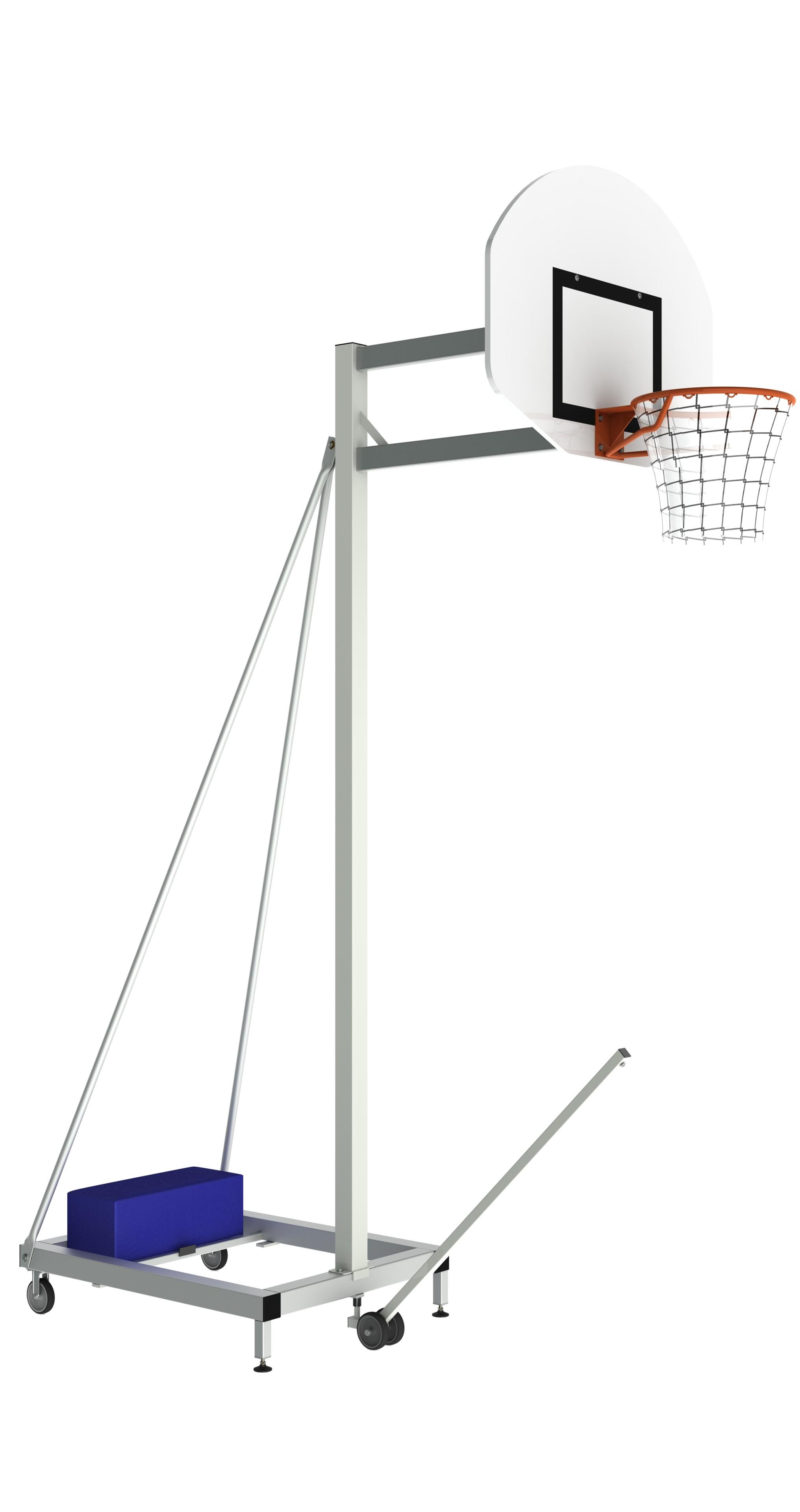 Image of   Basketball Portable Training Goal - 2,60 m - Udhæng 1,0 m
