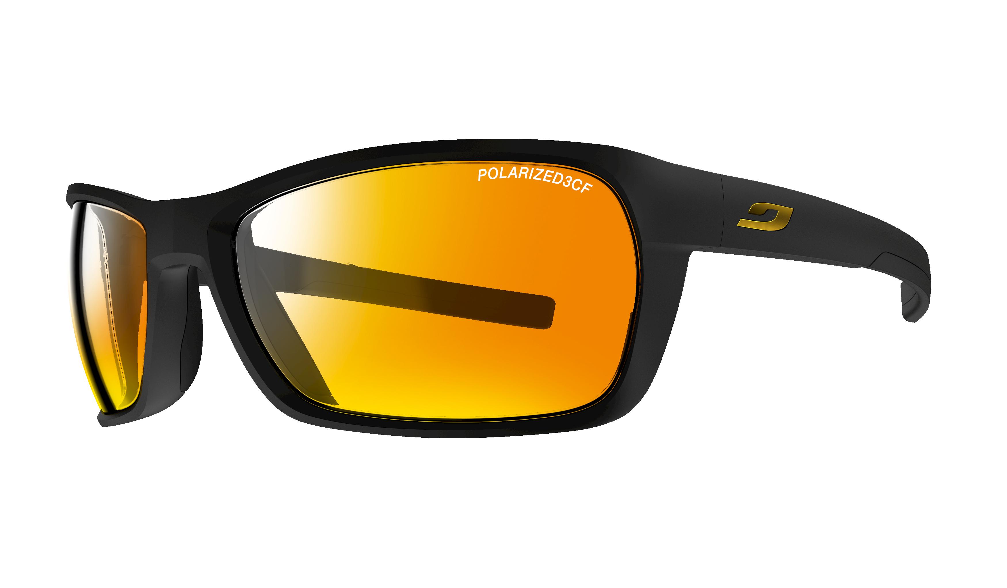 Image of   Julbo Blast polariseret 3+ Sportsbriller Large - Matt Black / Sort