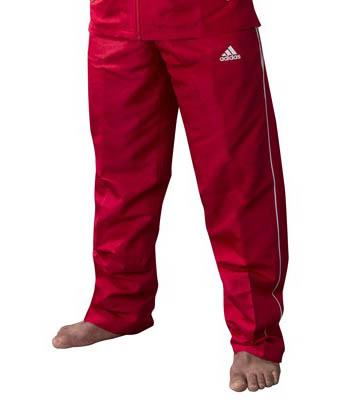 Adidas Team Track Trainingsbroek Rood-Wit_S