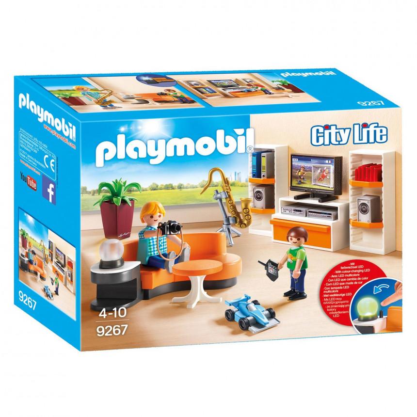 Playmobil 9267 salon kopen for Salon playmobil