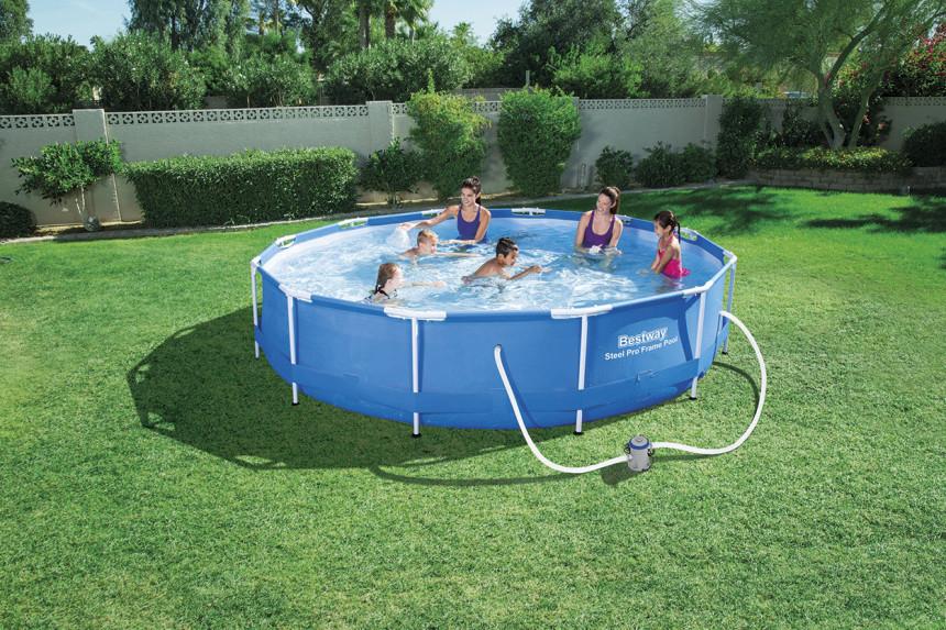 Bestway steel pro zwembad rond cm kopen
