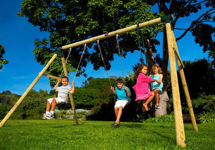 Schommel Voor Tuin : Plum colobus houten tuin schommel set kopen athleteshop