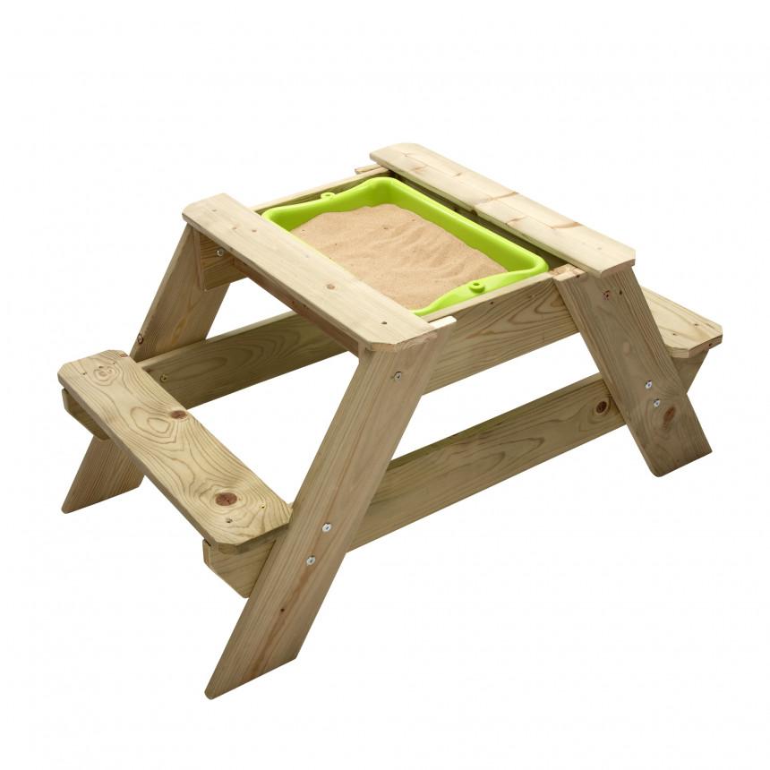 TP Picknick Tafel zandbak voor 2 JOY zand